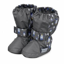 Бебешки буйки Sterntaler, Boots, Grey/Rockets