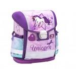 Ученическа раница Belmil Unicorn, Purple 403-13, 36см