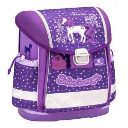 Ученическа раница Belmil Believe in Magic Purple 403-13, 36см