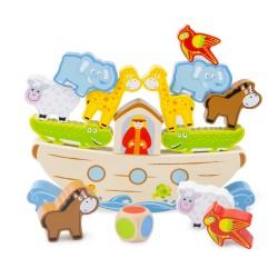Игра за баланс - Кораба на Ной New Classic Toys