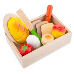 Кутия с продукти за рязане New Classic Toys