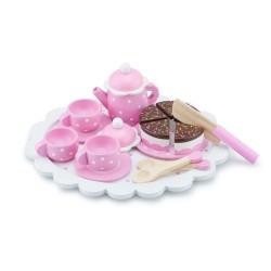 Детски сервиз за чай с торта New Classic Toys