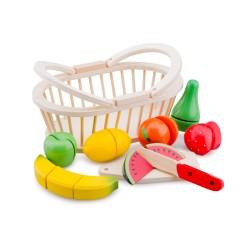 Кошница с плодове за рязане New Classic Toys