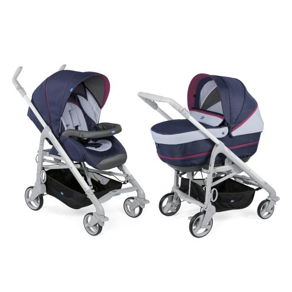 Бебешка количка Chicco Duo Love Up, 2 в 1, Earl Grey