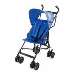 Лятна количка Chicco Snappy, Blue Wheels, 6м+