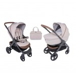 Бебешка количка Chicco Duo Stylego Up Crossover, 2 в 1, Beige