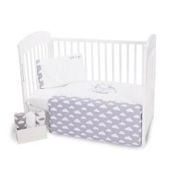 Бебешки спален комплект Kikka Boo 3 части с бродерия Little Angel