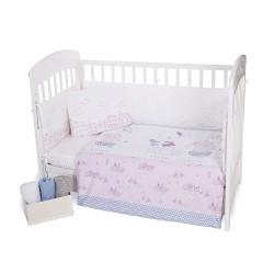 Бебешки спален комплект Kikka Boo 6 части 70/140 Better Together