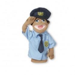 Кукла за ръка за куклен театър - Полицай Melissa & Doug