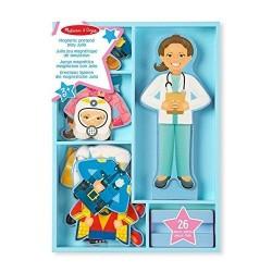 Магнитна кукла за обличане - Джулия Melissa & Doug
