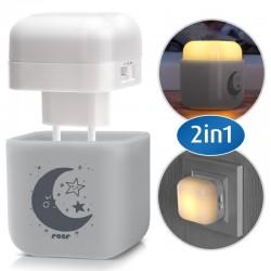 Детска нощна лампа 2 в 1 Reer 52141