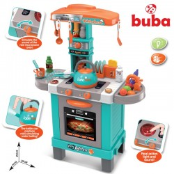 Детска индукционна кухня с чайник Buba 008-939А, Синя