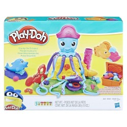 Моделин Hasbro Октоподчето Кранки Play Doh E0800