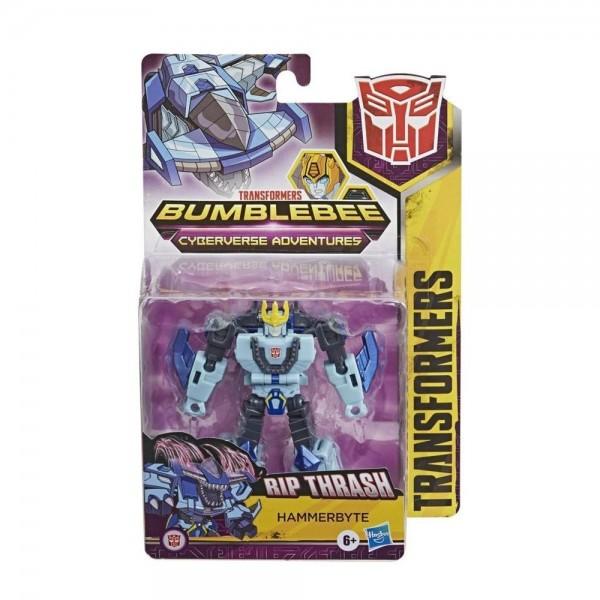 Фигура Hasbro Transformers Bumblebee Cyberverse Adventures Warrior Class Hammerbyte E1884