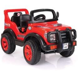 Акумулаторен джип Nitro 6V DOLU червен 8069