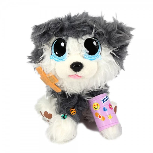 Плюшена играчка Rescue Runts Спаси мъничето Хъски