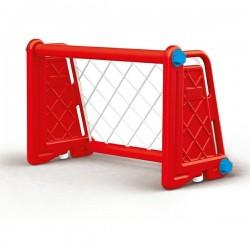 Футболна врата червена DOLU 3025