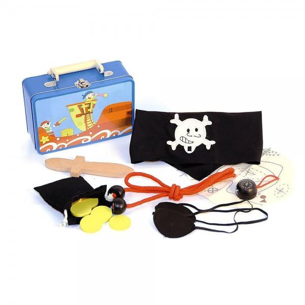 """Аксесоари в метално куфарче """"Пират"""""""