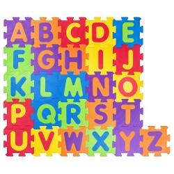 Mек пъзел за под, Английски азбука Woody