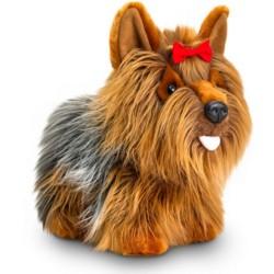 Плюшено куче, Йорки, стоящо, 30 см