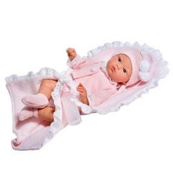 Дрехи за кукла, Жилетка, шапка и одеяло за кукла Коке