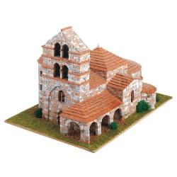 Романика 10, Църква, St. Salvador de Cantamuda - Модел за сглобяване Domus Kits