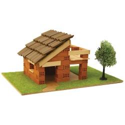 Къща с истински тухли, комплект за начинаещи 3 - Модел за сглобяване Domus Kits