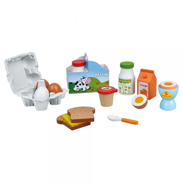 Дървени продукти Lelin toys, закуска