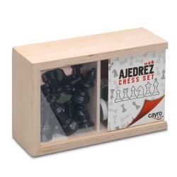 Фигури за шах, №3, в дървена кутия