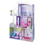 Kъща на три етажа за кукли с обзавеждане, Прованс