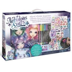 Комплект за апликиране Nebulous Starsстикери, албум принадлежности
