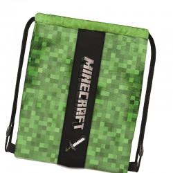 Ученическа спортна торба Minecraft