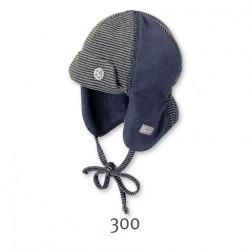Бебешка шапка Sterntaler, ушанка за момчета