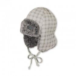 Зимна детска шапка за момче, тип ушанка