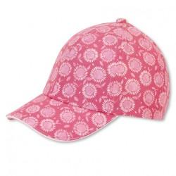 Бейзболна шапка с UV защита 50+ за момичета Sterntaler