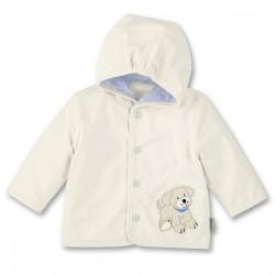 Бебешко палтенце Sterntaler, памук с Кученце