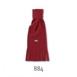 Червен детски плетен шал