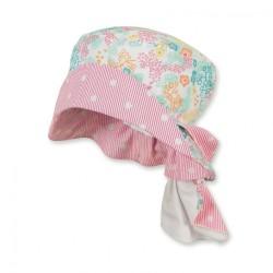 Бебешка лятна шапка Sterntaler, с UV 15+ защита с платка на врата