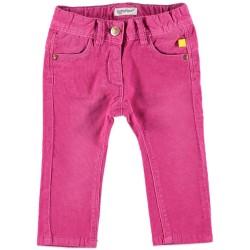 Бебешки панталон за момичета в розов цвят