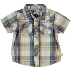 Карирана бебешка риза за момчета Babyface
