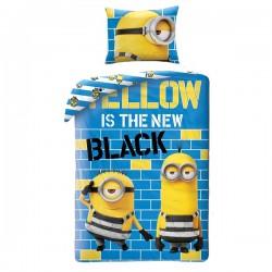 Детски спален комплект Minions Yellow, 2 части